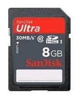 Флеш карта SDHC 8Gb Class10 Sandisk SDSDU-008G-U46 w/o adapter