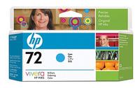 Картридж струйный HP №72 C9371A голубой (130мл) для HP DJ T1100/T610