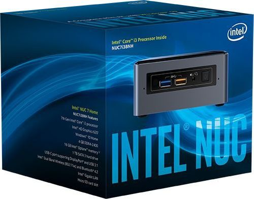 Платформа Intel NUC L10 Optane Original BOXNUC7i3BNHXF 2xDDR4