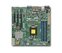 Материнская Плата SuperMicro MBD-X11SSH-LN4F-O Soc-1151 iC236 mATX 4xDDR4 8xSATA3 SATA RAID i210AT 4xGgbEth Ret