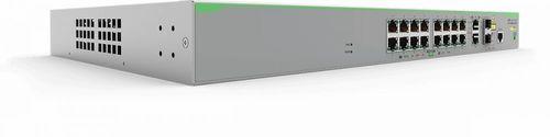 Коммутатор Allied Telesis AT-FS980M/18PS-50 16x100Mb 16PoE 8PoE+ 250W управляемый