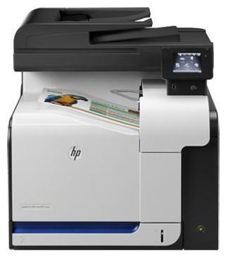 МФУ лазерный HP Color LaserJet Pro 500 MFP M570dw (CZ272A) A4 Duplex WiFi черный/белый