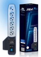 Сетевой фильтр Pilot Pro 5м (6 розеток) серый (коробка)