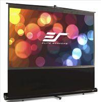 Экран на штативе Elite Screens 125x222см ezCinema F100NWH 16:9 напольный рулонный черный