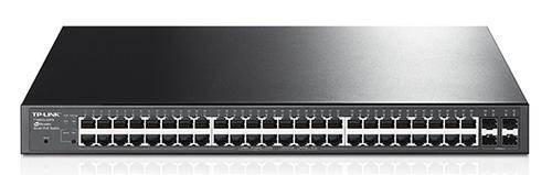 Коммутатор TP-Link JetStream T1600G-52PS 48G 4SFP 48PoE+ 384W управляемый
