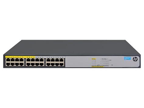 Коммутатор HPE OfficeConnect 1420 JH019A 24G 12PoE+ 124W неуправляемый