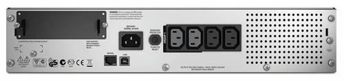 Источник бесперебойного питания APC Smart-UPS SMT750RMI2U 500Вт 750ВА черный