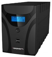 Источник бесперебойного питания Ippon Smart Power Pro II Euro 1600 960Вт 1600ВА черный