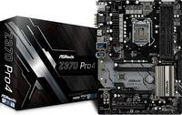 Материнская плата Asrock Z370 PRO4 Soc-1151v2 Intel Z370 4xDDR4 ATX AC`97 8ch(7.1) GbLAN RAID+VGA+DVI+HDMI