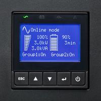 Источник бесперебойного питания Eaton 9PX 2200i RT3U 2200Вт 2200ВА черный