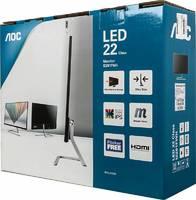 "Монитор AOC 21.5"" Style I2281FWH (01) черный AH-IPS LED 16:9 HDMI матовая 250cd 1920x1080 D-Sub FHD 2.65кг"