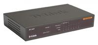 Коммутатор D-Link DES-1008P/C1A 8x100Mb 4PoE 52W неуправляемый