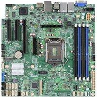 Материнская Плата Intel DBS1200SPLR Soc-1151 iC236 mATX 4xDDR4 8xSATA3 SATA RAID i210 2хGgbEth Ret