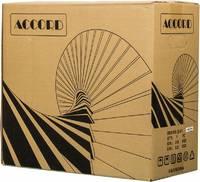 Корпус Accord E-01 черный без БП ATX 1x80mm 1x92mm 2x120mm 2xUSB2.0 1xUSB3.0 audio