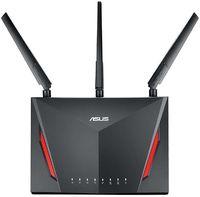Роутер беспроводной Asus RT-AC86U AC2900 10/100/1000BASE-TX/4G ready черный