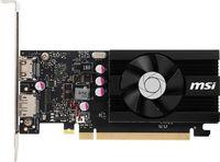 Видеокарта MSI PCI-E GT 1030 2GD4 LP OC nVidia GeForce GT 1030 2048Mb 64bit DDR4 1189/2100/HDMIx1/DPx1/HDCP Ret low profile