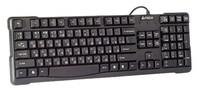 Клавиатура A4 KR-750 черный USB