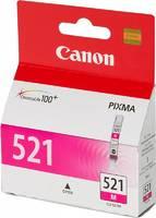 Картридж струйный Canon CLI-521M 2935B004 пурпурный для Canon iP3600/4600/MP540/620/630/980