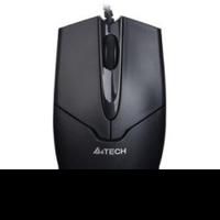 Мышь A4 V-Track Padless OP-550NU черный оптическая (1000dpi) USB (2but)