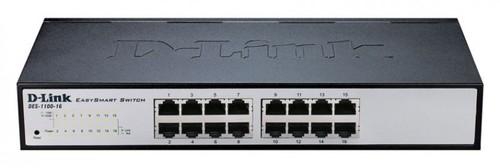 Коммутатор D-Link DES-1100-16/A2A 16x100Mb настраиваемый