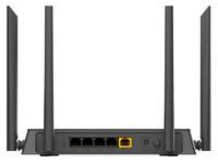 Роутер беспроводной D-Link DIR-822 (DIR-822/RU/R1) AC1200 10/100BASE-TX черный