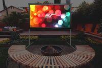Экран на штативе Elite Screens 125x222см Yard Master OMS100H2-DUAL 16:9 переносной(мобильный) натяжной