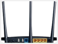 Роутер беспроводной TP-Link Archer C7 AC1750 10/100/1000BASE-TX/4G ready черный