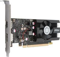 Видеокарта MSI PCI-E GeForce GT 1030 2G LP OC nVidia GeForce GT 1030 2048Mb 64bit GDDR5 1265/6008/HDMIx1/DPx1/HDCP Ret low profile