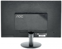 "Монитор AOC 23.6"" Value Line E2470Swhe (/01) черный TN+film LED 5ms 16:9 HDMI матовая 250cd 1920x1080 D-Sub FHD 3.58кг"