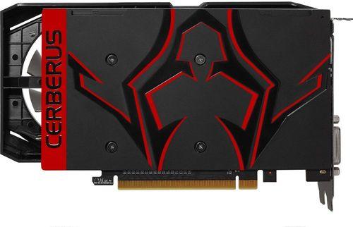 Видеокарта Asus PCI-E CERBERUS-GTX1050TI-A4G nVidia GeForce GTX 1050TI 4096Mb 128bit GDDR5 1303/7008 DVIx1/HDMIx1/DPx1/HDCP Ret