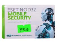 ПО Eset NOD32 NOD32 Mobile Security 3 devices 1 year Base Card (NOD32-ENM2-NS(CARD)-1-1)