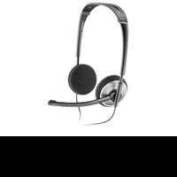 Наушники с микрофоном Plantronics Audio 478 черный 2м накладные оголовье (81962-25)