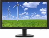 "Монитор Philips 23.6"" 243S5LSB5 (00/01) черный TN LED 5ms 16:9 DVI матовая 250cd 1920x1080 D-Sub FHD 3.41кг"