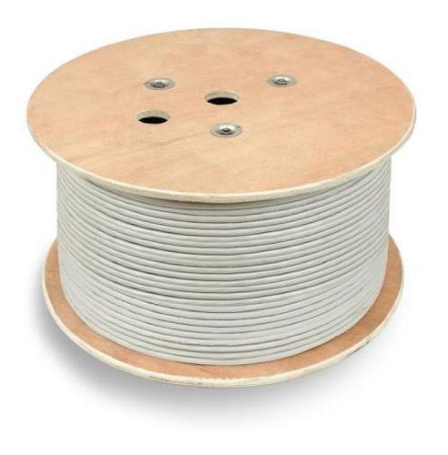 Кабель сетевой Buro UTP 4 пары cat6 solid 0.52мм Cu 305м серый