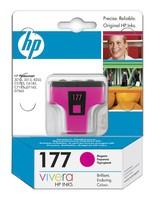 Картридж струйный HP №177 C8772HE пурпурный (370стр.) для HP 3313/C5183/C6183/C7183/D7163/8253