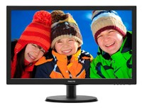 "Монитор Philips 21.5"" 223V5LSB (00/01) черный TN+film LED 5ms 16:9 DVI матовая 250cd 1920x1080 D-Sub FHD 2.61кг"