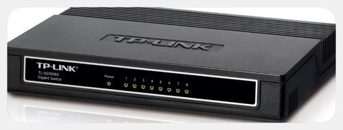 Коммутатор TP-Link TL-SG1008D 8G неуправляемый