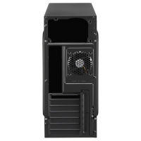 Корпус Aerocool V3X черный/красный без БП ATX 1x80mm 2xUSB2.0 audio