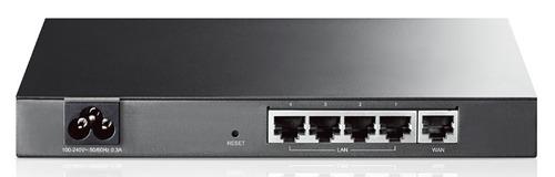 Роутер TP-Link SafeStream TL-R600VPN 10/100/1000BASE-TX черный