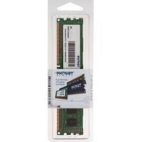 Память DDR3 2Gb 1600MHz Patriot PSD32G16002 RTL PC3-12800 CL11 DIMM 240-pin 1.5В