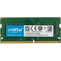 Память DDR4 4Gb 2133MHz Crucial CT4G4SFS8213 RTL PC4-17000 CL15 SO-DIMM 260-pin 1.2В single rank