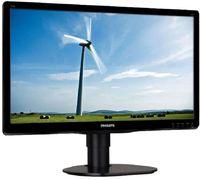 "Монитор Philips 19.5"" 200S4LYMB (00/01) черный TFT LED 5ms 16:9 M/M матовая HAS Pivot 1000:1 250cd 170гр/160гр 1600x900 D-Sub DisplayPort HD READY 4.2кг"