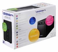Источник бесперебойного питания Ippon Back Basic 1050 600Вт 1050ВА черный