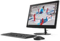 "Моноблок Lenovo IdeaCentre 330-20AST 19.5"" WXGA+ E2 9000 (1.8)/4Gb/1Tb/R2/DVDRW/Windows 10/GbitEth/WiFi/BT/клавиатура/мышь/Cam/черный 1440x900"