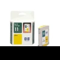 Картридж струйный HP 11 C4838A желтый для HP DJ 2000C/CN/2500C/2200/2250/500/800