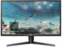 "Монитор LG 27"" Gaming 27GK750F-B черный/красный TN LED 2ms 16:9 HDMI матовая HAS Pivot 1000:1 400cd 170гр/160гр 1920x1080 DisplayPort FHD USB 6.3кг"
