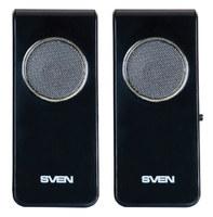 Колонки Sven 314 2.0 черный 4Вт