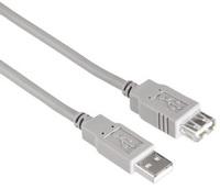 Кабель-удлинитель Hama H-53725 00053725 USB A(m) USB A(f) 1.5м