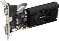 Видеокарта MSI PCI-E R7 240 2GD3 64b LP AMD Radeon R7 240 2048Mb 64bit DDR3 600/1600 DVIx1/HDMIx1/CRTx1/HDCP Ret low profile