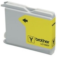 Картридж струйный Brother LC1000Y желтый для Brother DCP-130/330